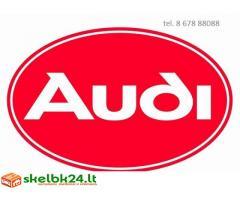 Audi automobiliu dalys, autodalys, Audi dalimis