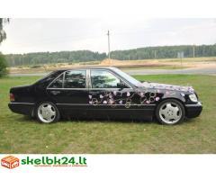 Mercedes Benz S klasės nuoma Jūsų šventei