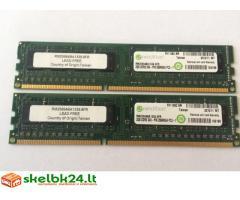 Parduodu 2GB+2GB DDR3 RAM