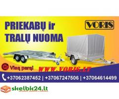 """TRALIUKŲ / PRIEKABŲ NUOMA UAB """"VORIS"""" +37062387452; +37067247506; +37064614499 ALYTUS www.voris.lt"""
