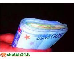 garantuotos paskolos laisvų skolininkams