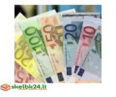Siūlo paskolas tarp privačių asmenų ir finansavimo