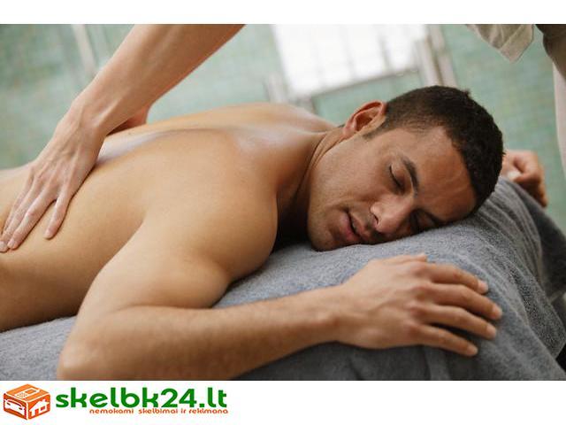 masažas vyrams varpos