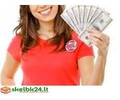 Pagaminta savo prašyma ir gauti savo kredito