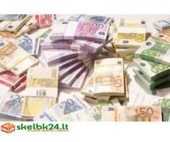 kredito pasiūlos ir finansavimo