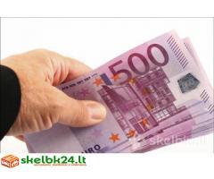 Greita finansinė pagalba ir pinigų