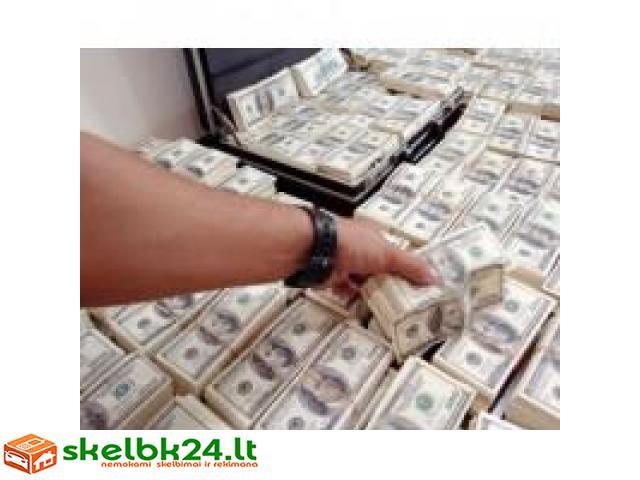 greitas sprendimas Jūsų finansinių problemų.