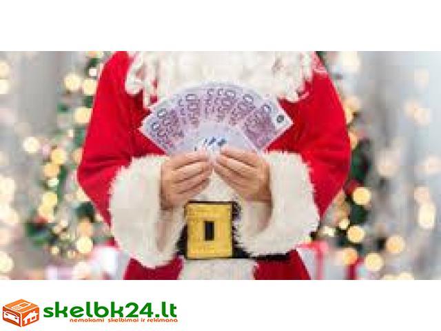 privataus kredito siūlo Kalėdoms