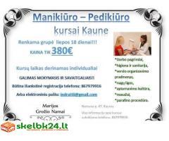 Manikiūro - Pedikiūro kursai nuo liepos 18d