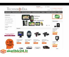 Elekroninių parduotuvių kūrimas ir administravimas. www.puslapiai24.lt