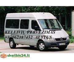Mikroautobusų nuoma Alytuje(su vairuotoju)