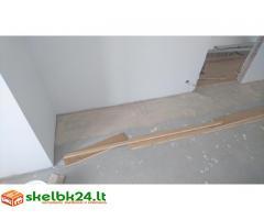 Remonto darbai: dažymas, plytelių klojimas, tapetavimas, grindų dangos montavimas