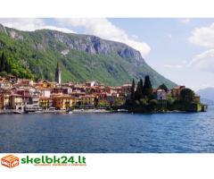 Savarankiška kelionė prie Como ežero (Italija)