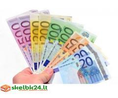 Finansinė pagalba indėlis