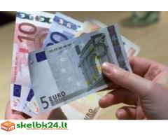 Finansų konsultanto darbas Skuode-Plungėje-Kretingoje