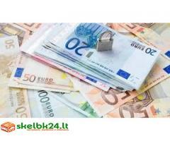 Paskolos pagalba ir greitas finansavimas asmeninįpranešimą