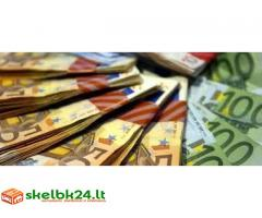 Asmeninė kredito sutartis tarp individų