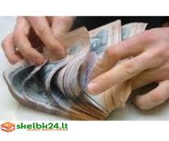 Aš galiu duoti jums 2,000 euro paskolą 500,000 eurų