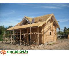 Greitas bei kokybiskas stogu dengimas,karkasu statyba