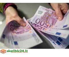 Padėti finansuoti ir vartotojų kreditavimas