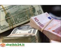 Pagalbos ir paskolų finansavimo
