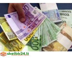 Paskolos iš € 1,000 iki 1,500 000 €