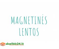 Priemonės magnetinėms lentoms