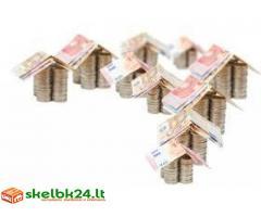 Pagalbą ir finansavimą asmenims, kuriems jos reikia Aš esu individas su kapitalo paskolų