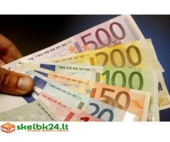 Susitarimas dėl finansinės pagalbos