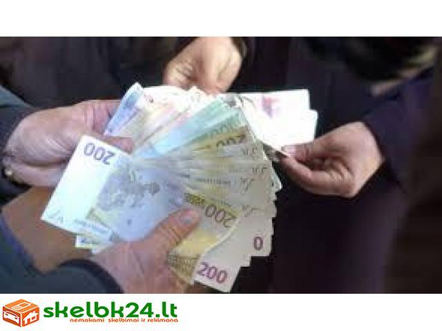 Finansinės paskolos pasiūlymas tarp ypač pasaulyje