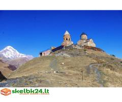 Gruziją (Batumi, Borjomi, Mestia-Usghuli, Sighnaghi, Kazbegi)