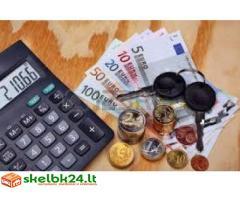 Finansinė pagalba siūlo skolinimo pinigų visiems tarp asmenų