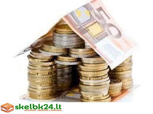 Paskolos ir finansinė pagalba be jokio mokesčio iš anksto