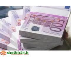 pinigų paskolos pasiūlymas tarp rimto asmens