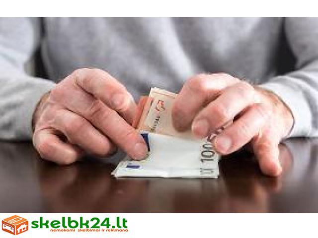 paskolų pasiūlymas ir projektų finansavimas