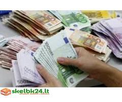 Privataus kredito pasiūlymas