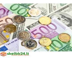Saugus ir greitas grynųjų pinigų paskolos pasiūlymas per 24 valandas