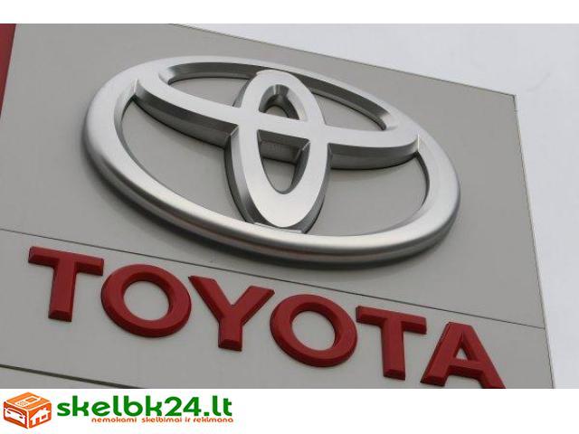 Toyota automobilių dalys, Toyota dalimis