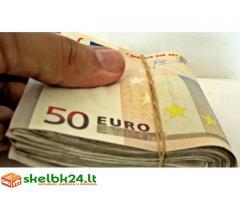Finansavimo pasiūlymas ir greita paskola kredituojamiems žmonėms