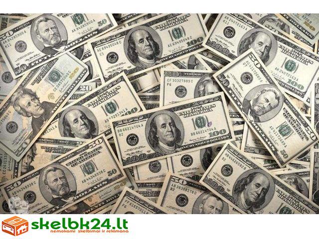 Paskolos,refinansavimas be turto įkeitimo!