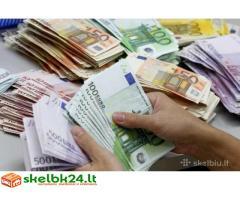 Paskolos suteikiamos ir refinansavimas