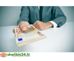 Mes siūlome jums geriausių skolinimo ir finansavimo variantai