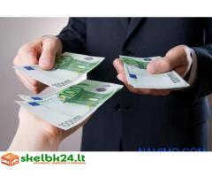 Labai rimtas ir greitas kredito pasiūlymas