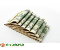 Gauti savo pinigu paskola mažiau nei 24 valandas