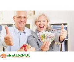 Finansuoti kreditą visiems rimtiems žmonėms