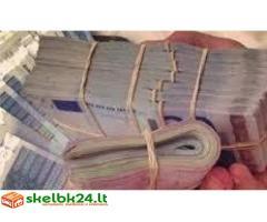 Priimta jūsų kredito paraiškos