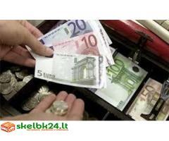 Greitas ir patikimas paskolos 100%(1000 € iki 800000 €)