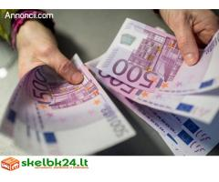 Nebereikia nerimauti dėl bet kokio finansavimo