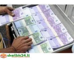 Greitas pinigų paskolos pasiūlymas