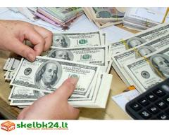 siūlo paskolų finansavimą ir investicijas